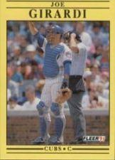 Buy 1991 Fleer #421 Joe Girardi