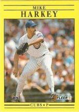 Buy 1991 Fleer #423 Mike Harkey