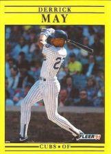 Buy 1991 Fleer #427 Derrick May