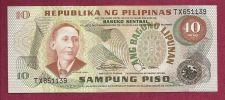 Buy Philippines 10 Sampung Piso 1949 Banknote #TX651139