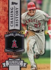 Buy 2013 Topps Chasing History #CH-64 - Mike Trout - Angels