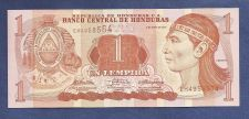 Buy Honduras 1 Lempira 2010 Banknote EH4958554 UNCirculated