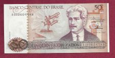 Buy Brazil 50 Cruzados 1986 UNC Banknote# A0669054734A