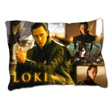 Buy LOKI Thor The Dark World TOM HIDDLESTON Custom Pillow Case Cover GIFT