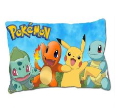 "Buy Pokemon Pikachu Bulbasaur Charmander Squirtle Custom Pillow Case Cover 30"" x 20"""