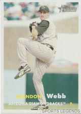 Buy 2006 Heritage #31 Brandon Webb