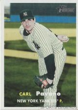 Buy 2006 Heritage #45 Carl Pavano