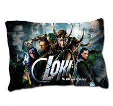 Buy LOKI Thor The Dark World TOM HIDDLESTON Custom Pillow Case Cover Ideal GIFT