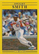 Buy 1991 Fleer #432 Dwight Smith