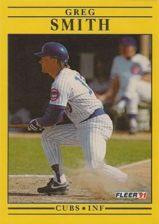 Buy 1991 Fleer #433 Greg Smith