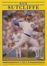 Buy 1991 Fleer #434 Rick Sutcliffe
