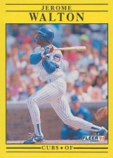 Buy 1991 Fleer #437 Jerome Walton
