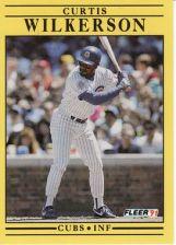 Buy 1991 Fleer #438 Curtis Wilkerson