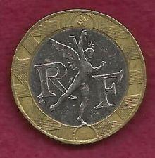 Buy FRANCE 10 Francs 1990 Bi-metal Coin - Winged Spirit of Bastille