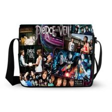 Buy Pierce The Veil Custom Messenger Bag, School Bag, Laptop Bag, Note Bag Ideal Gift