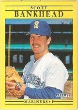 Buy 1991 Fleer #442 Scott Bankhead