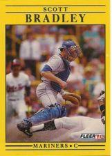 Buy 1991 Fleer #443 Scott Bradley