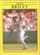 Buy 1991 Fleer #444 Greg Briley