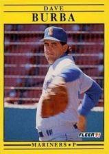 Buy 1991 Fleer #447 Dave Burba