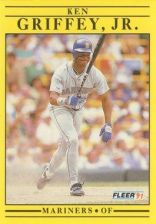 Buy 1991 Fleer #450 Ken Griffey Jr. (Corrected)