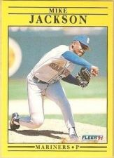 Buy 1991 Fleer #454 Mike Jackson