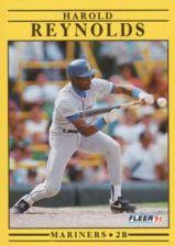 Buy 1991 Fleer #460 Harold Reynolds