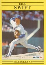 Buy 1991 Fleer #462 Bill Swift