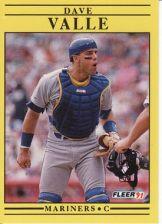 Buy 1991 Fleer #463 Dave Valle