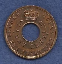 Buy East Africa 1 Cent 1959 Coin - Unique Rare Coin over 50 years old!!