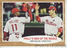 Buy 2011 Heritage #72 Jimmy Rollins Chase Utley