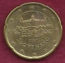 Buy Slovenia 20 Euro Cent 2009 Coin