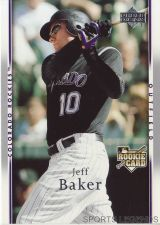 Buy 2007 Upper Deck #13 Jeff Baker
