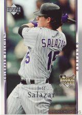 Buy 2007 Upper Deck #15 Jeff Salazar