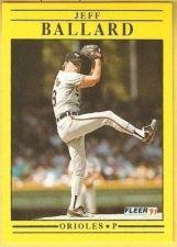 Buy 1991 Fleer #467 Jeff Ballard