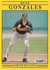 Buy 1991 Fleer #473 Rene Gonzales
