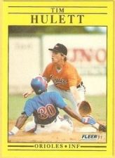 Buy 1991 Fleer #478 Tim Hulett