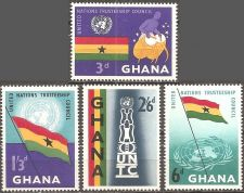 Buy Ghana: Scott No 67-70 (1959), MNH, Cpl Set