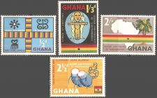 Buy Ghana: Scott No 42-45 (1959), MNH, Complete Set