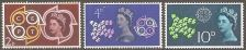 Buy Great Britain: Scott No 384-386 (1961) MNH, Cpl