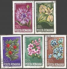 Buy Romania: Flowers (1974), CTO Short Set