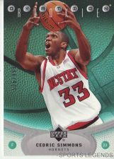 Buy 2006-07 Upper Deck Ovation #108 Cedric Simmons