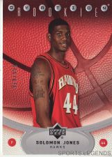 Buy 2006-07 Upper Deck Ovation #127 Solomon Jones