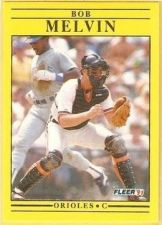 Buy 1991 Fleer #482 Bob Melvin