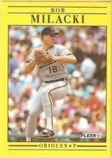 Buy 1991 Fleer #483 Bob Milacki