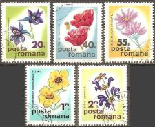 Buy Romania: Flowers (1975), CTO Short Set