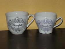 "Buy HOUSE OF GOEBEL ""Grandfather"" and ""Grandmother"" Mug Set Excellent Cond."