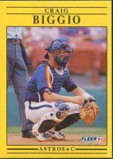 Buy 1991 Fleer #499 Craig Biggio