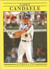 Buy 1991 Fleer #501 Casey Candaele