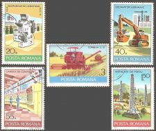 Buy Romania: Industrial Development (1978), CTO Short Set