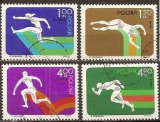Buy Poland: European Sports Competition (1975), CTO Complete Set